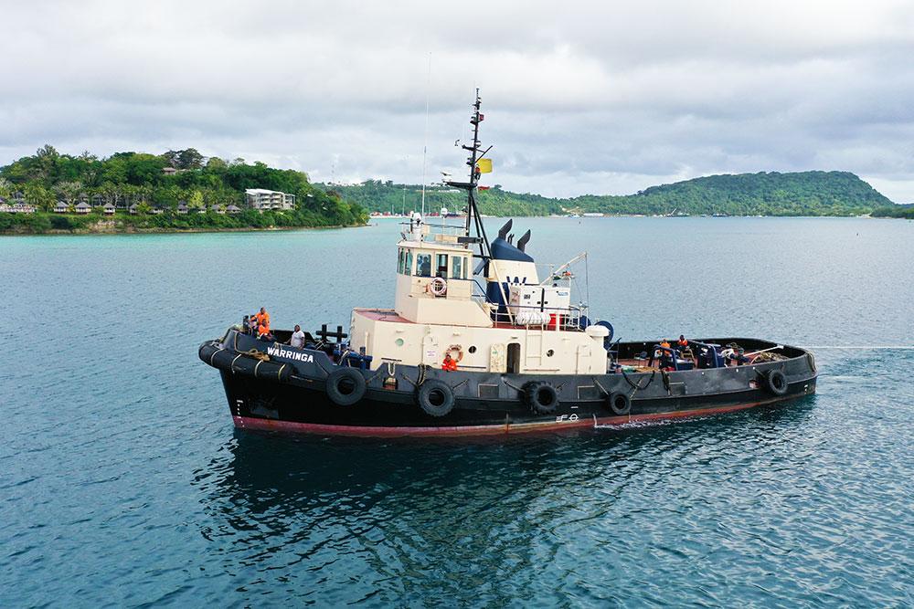 warringa tugboat south pacific